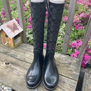 Coach Tristee Boot /Rainboot Size 7